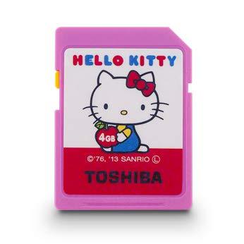 Toshiba 4 GB SDHC Clase 4 tarjeta Hello Kitty sd-h04gkt ...