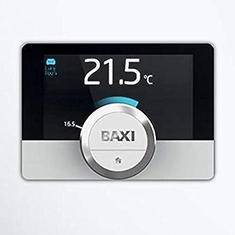 Cronotermostato de pared Baxi Mago con módulo WiFi y Kit Adaptador para caldera