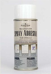 Stencil Ease Repositionable Stencil Spray Adhesive - 4.4 oz. can by stencil ease