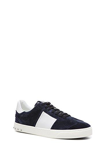 VALENTINO GARAVANI Sneakers Uomo PY2S0A08LARM15 Camoscio Blu Manchester Gran Venta Oficial lgd8AlBZ