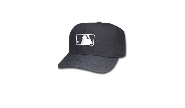 4912873b39ed47 Amazon.com : New Era MLB Umpire Logo Hat - Black Major League Umpire  On-Field Cap 7 1/4 Fitted : Other Products : Everything Else