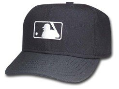 Amazon.com   New Era MLB Umpire Logo Hat - Black Major League Umpire ... 845dccaec73