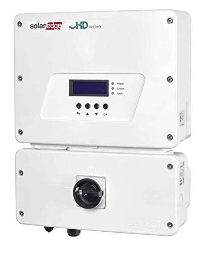 SolarEdge HD Wave 6kW 208/240V Single Phase Inverter SE6000H-US