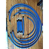 (ECW&L EZGO TXT PDS 2AWG Battery Cable Kit (Blue))