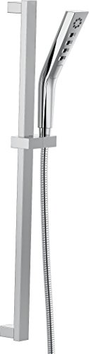 Delta Faucet 51799 H2Okinetic 3-Setting Slide bar Hand Shower, Chrome