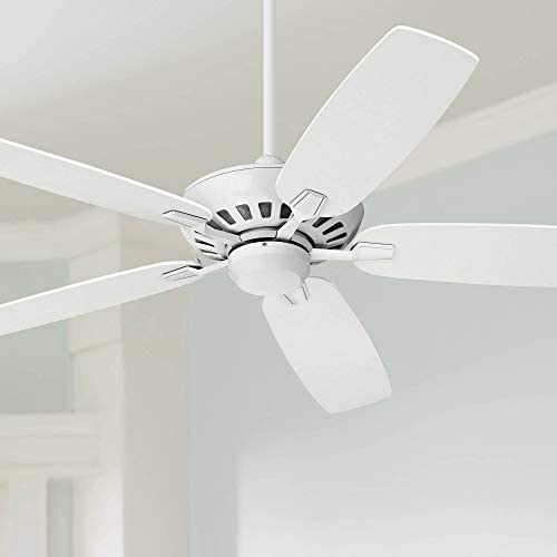 52 Journey Modern Ceiling Fan with Remote Control White for Living Room Kitchen Bedroom Family Dining – Casa Vieja