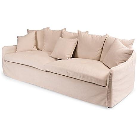 Sarreid 40406 Frost Sofa Ecru