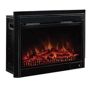 Paramount 71-cm (28-in.) Electric Fireplace Insert with Black Trim Kit