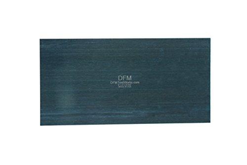DFM Tool Works Blue Cabinet Scraper - MADE IN USA - QTY 1 EA 0.042 x 3 x 6