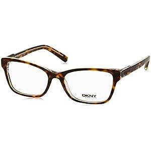 DKNY DY4650 Eyeglass Frames 3533-53 - Transparent Tortoise