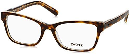 DKNY DY4650 Eyeglass Frames 3533-53 - Transparent Tortoise Dkny Glasses Frames
