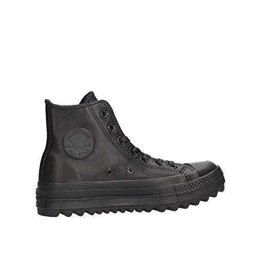 da Black Black Chuck Fitness Leather Scarpe Ctas Hi Taylor Black 001 Converse Ripple Nero Lift Donna H6OqTx88
