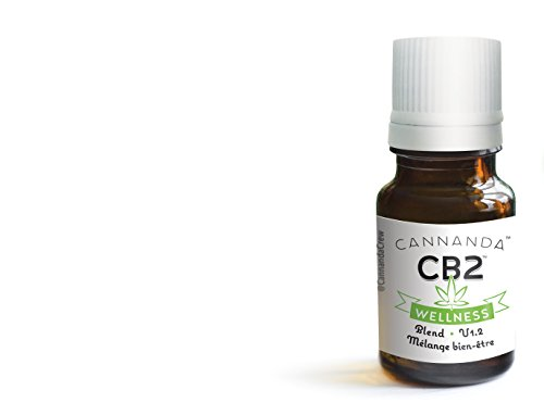 CB2 WELLNESS: CBD Oil/Cannabidiol Activator (3800mg) - Activates the Endocannabinoid system - Natural Pain and Inflammation Relief - With Natural Terpenes by Cannanda