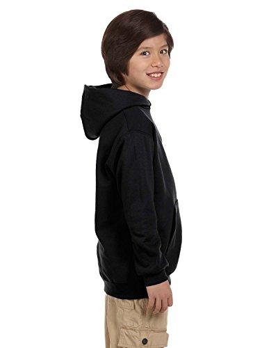 Champion Boys Eco Fleece Pullover Hoodie, Black,