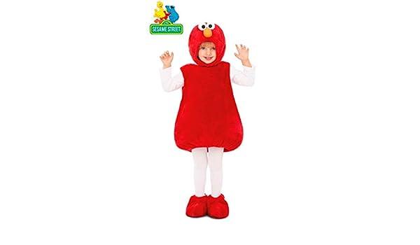 Barrio Sésamo Disfraz Peluche de Elmo para niños y bebé: Amazon.es ...