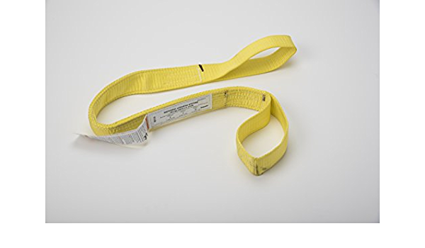 DURABULL 10 1 Ply Polyester Flat Eye Synthetic Web Slings DFE1910P20Y
