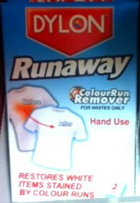 Dylon Runaway Colour Run Remover for Whites Only Hand Use