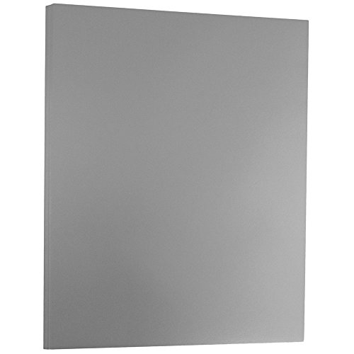 (JAM PAPER Foil 24lb 2-Sided Paper - 8.5 x 11 - Silver - 50 Sheets/Pack)