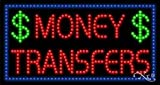 Money Transfers LED Sign (High Impact, Energy Efficient)