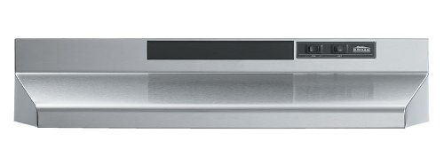 Broan 433604 ADA Capable 4-Way Convertible Under-Cabinet Range Hood, 36-Inch, Stainless Steel
