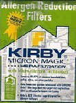 Kirby Allergen Reduction Filter F Series 6 Pack OEM # 204808