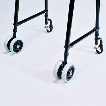 Sammons Preston TFI Walker Wheels, Glide Tips and Brakes ( brake for back )