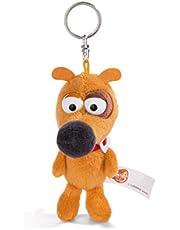 Nici 44230 sleutelhanger hond Pat 10 cm, bruin