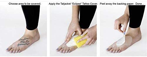 TatJacket Tatuaje Para Cubrir Kit Parches Set Cicatriz Marca de ...