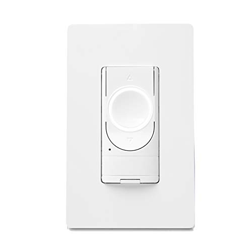 GE Lighting 48733 Smart Switch Motion Sensing and Dimmer, Wi-Fi, Works with Alexa/Google Assistant Without Hub, Single-Pole/3-Way Replacement C by GE On/Off Toggle, White