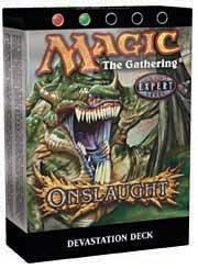 Magic the Gathering Onslaught Theme Deck Devastation