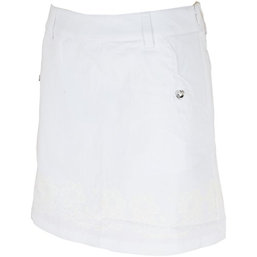 マリクレール marie claire スカート ストレッチ スカート 717311 レディス ホワイト L