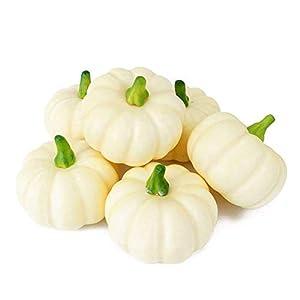 ShellKingdom Artificial Mini Pumpkin for Decoration, Fall Pumpkin for Home//Wedding Thanksgiving/Halloween/Party Decoration 12 PCS 3