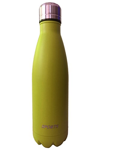 Vacuum Flask Double Wall Stainless Steel Insulated Water Bottle-17oz (P H Soda compare prices)