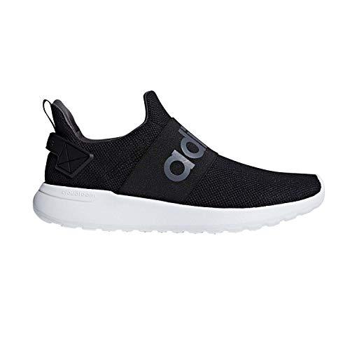 adidas Men's Lite Racer Adapt Running Shoe, Black/Black/Grey One, 11 M US