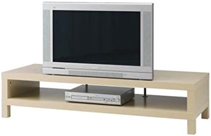 PINTURA de TV-banco de madera de abedul IKEA después de la ...