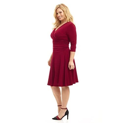 outlet Rekucci Curvy Fit Plus Size Women\'s Slimming 3/4 ...