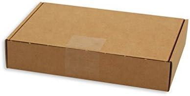 KartonProfis - Lote de 100 cajas de cartón alargadas (243 x 160 x ...