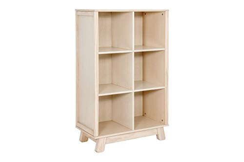 Babyletto Hudson Cubby Bookcase, Washed Natural ()