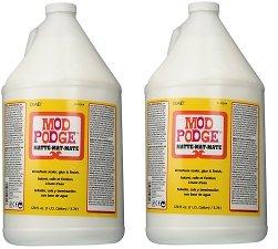 Mod Podge Waterbase Sealer, Glue and Finish (1-Gallon), CS11304 Matte Finish (2-(Pack))