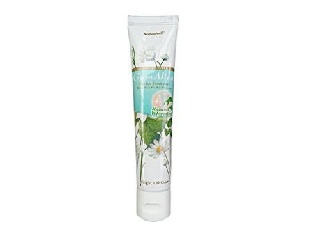 Gum Alive Bodhical Extract Natural Whitening : The Spa Toothpaste with pure Herbal Extracts , White Bamboo Charcoal and Bamboo Salt 100g (3.53 Oz) by LITTLE BEE SHOP by LITTLE BEE SHOP