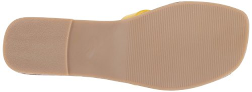 Steve Us Sandal 5 Yellow M 7 Leather Madden Sicily Women's rwqzrBg