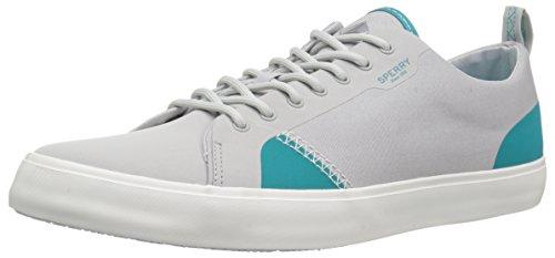 Sperry Top-Sider Men Flex Deck LTT Canvas Sneaker Grey