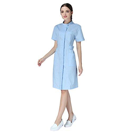 Xuanku Las Enfermeras Usar Mangas Largas, Batas Blancas, Gruesas Batas Blancas, Las Enfermeras