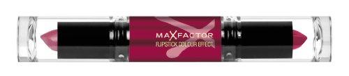 Max Factor Flipstick Color Effect Lipstick for Women, # 25 Salsa (Lipstick Red Salsa)