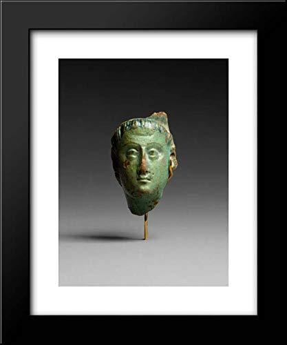 Ptolemaic Period - 15x18 Framed Museum Art Print- Head, Ptolemy III (?)