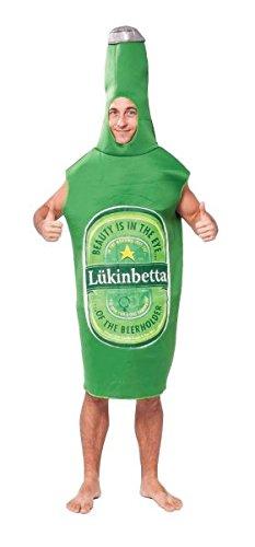 Beer Bottle Funny Adult Costume (Beer Halloween Costumes)