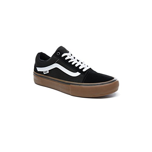 Buy vans shoes men black gum