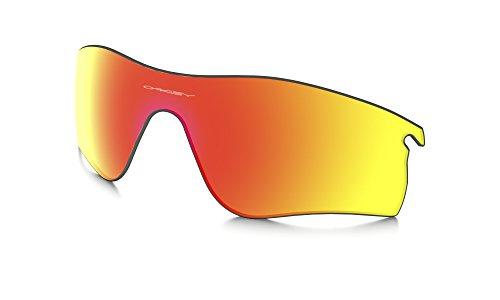 (Oakley 101-141-024 Unisex Radarlock Path Sunglasses Repl Lens, Ruby Iridium)