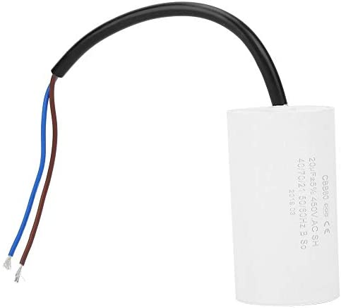 stronerliou CBB60 motorstartcondensator 450 V 20 uF microfarad condensator met kabel
