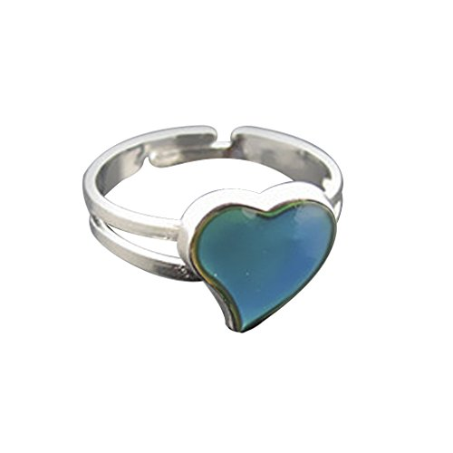 Color Changeable Heart Mood Ring product image